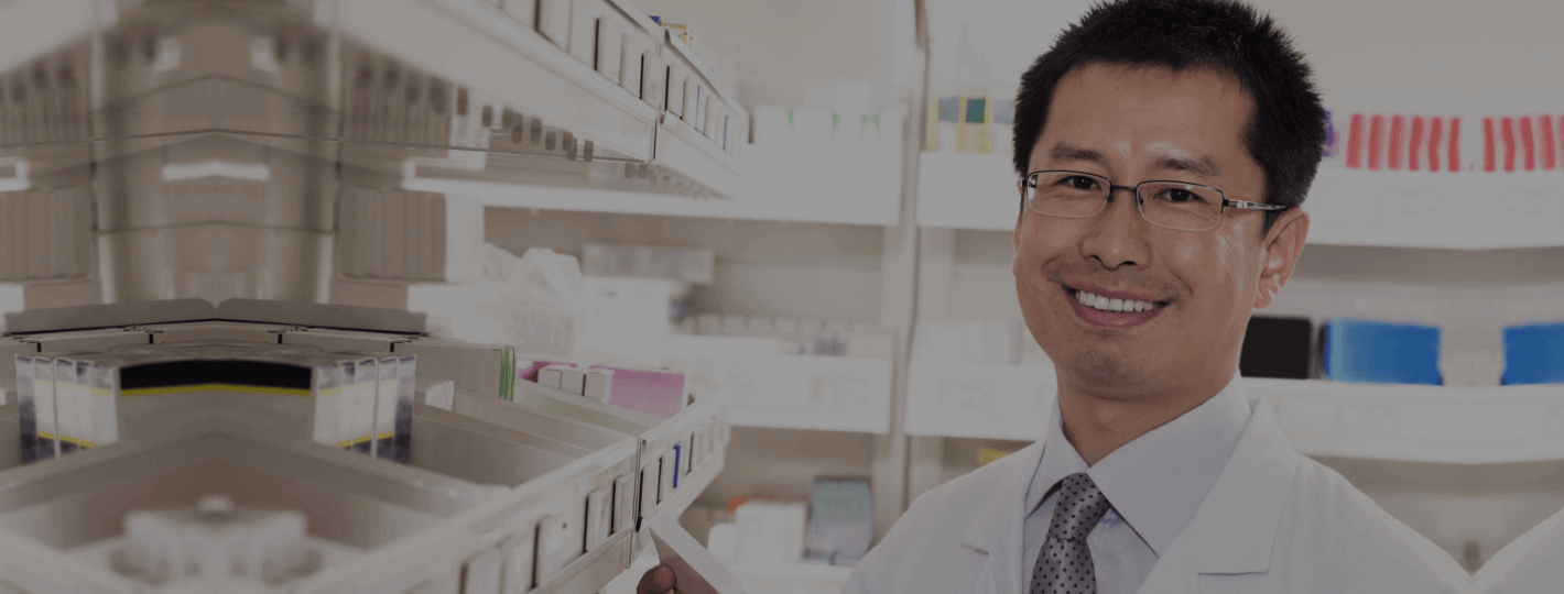 guy pharmacist smiling